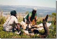 Potters from Nkwalini Valley in KwaZulu-Natal including Masonto