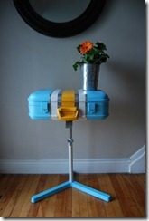 Blue Footed Bobby (an IKEA Hack + old suitcase) by leel